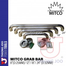 [MITCO] Bathroom Tub Toilet Stainless Steel Handrail Grab Bar Shower Safety Support Handle Towel Rack