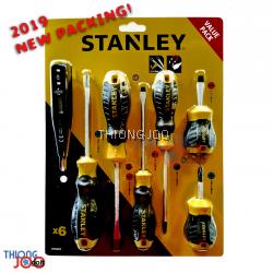 [7Pcs] STANLEY Cushion Grip Screwdriver Set w/Digital Test Pen (92-002)