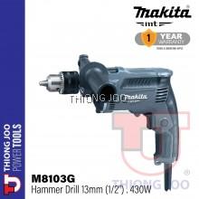 """Makita M8103G 13mm (1/2"""") Hammer Drill"""