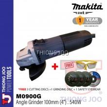 """Makita M0900G 100 mm(4"""") Angle Grinder"""
