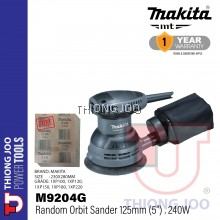 """Makita M9204G 125mm (5"""") Random Orbit Sander"""