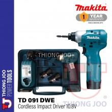 MAKITA TD091DWE 10.8V CORDLESS IMPACT DRIVER