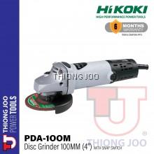 "HIKOKI PDA-100M DISC GRINDER WITH SNAP SWITCH 100MM (4"")"