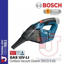 BOSCH GAS 12V-LI CORDLESS VACUUM CLEANER SOLO