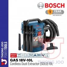 BOSCH GAS 18V-10L 18V CORDLESS VACUUM CLEANER