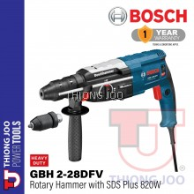 BOSCH GBH 2-28DFV 820W ROTARY HAMMER with SDS-PLUS
