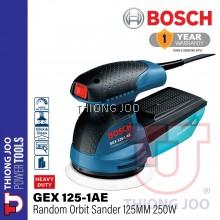 BOSCH GEX125-1AE RANDOM ORBIT SANDER 125MM 250W