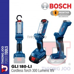 BOSCH GLI180-Li CORDLESS WORKLIGHT 18V 300 LUMENS