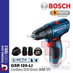BOSCH GSR 120-LI GEN 2 CORDLESS DRILL/ DRIVER 8MM 12V