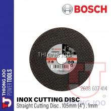 BOSCH 2608607414 STAINLESS STEEL CUTTING DISC EXPERT RANGE (105 X 1 X 16mm) - 25 PCS