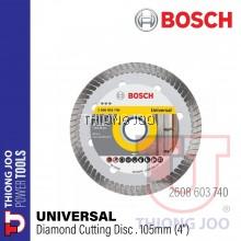 "BOSCH 4""/105MM UNIVERSAL DIAMOND CUTTING DISC 2608603740"