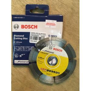 "BOSCH 105MM (4"") ECO UNIVERSAL DIAMOND CUTTING DISC FOR GRINDER & CIRCULAR SAW 2608615025"