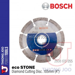 "BOSCH 105MM (4"") ECO STONE DIAMOND CUTTING DISC FOR STONE & GRANITE 2608615055"