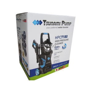 TSUNAMI HPC-7180 LIGHT INDUSTRIAL CLEANING HIGH PRESSURE CLEANER 2200W