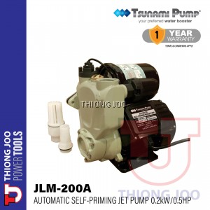 TSUNAMI JLM 200A AUTOMATIC SELF-PRIMING JET PUMP