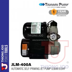 TSUNAMI JLM 400A AUTOMATIC SELF-PRIMING JET PUMP